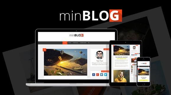 MinBlog Personal Mnimalist Theme