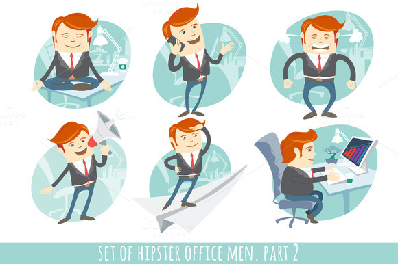 Office Men Set Part 2