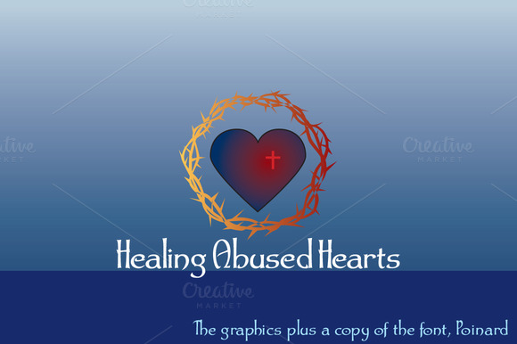 Healing Abused Hearts Font