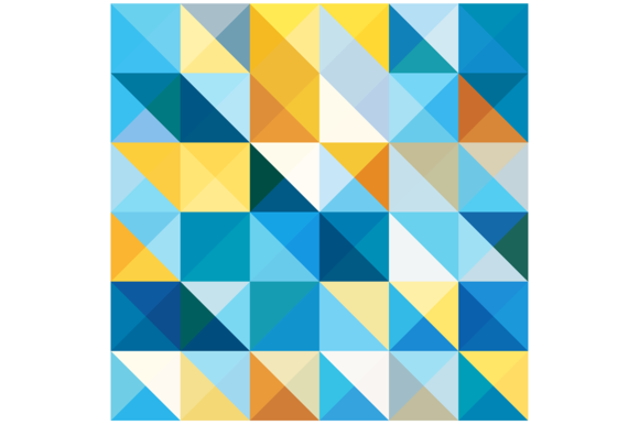 Squares And Triangles Pattern