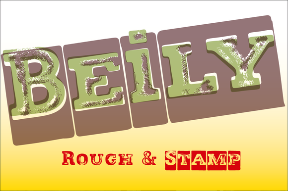 Beily Rough And Stamp