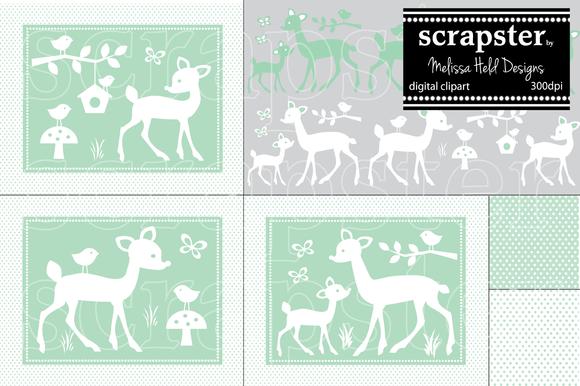 Deer Graphics Clipart
