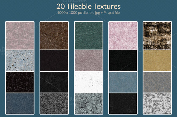 20 Tileable Textures