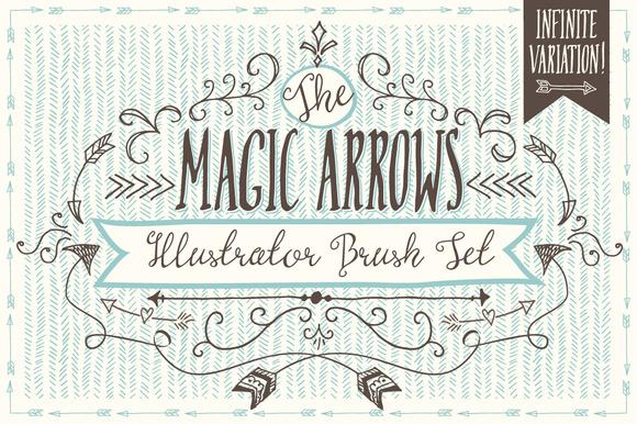Magic Arrow Brushes