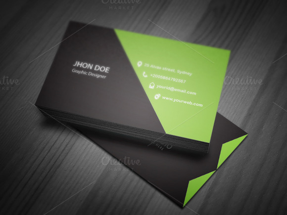 Corporate Business Card Tmeplate