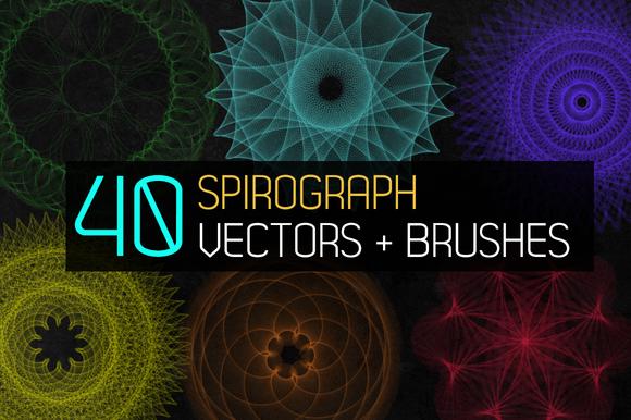Spirograph Guilloche Patterns