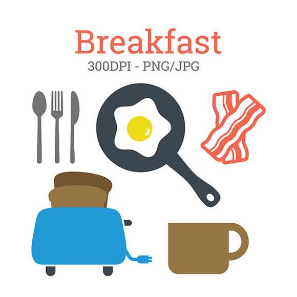 Breakfast Food Clipart