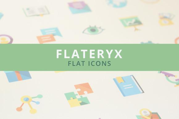 Flateryx Flat Icons