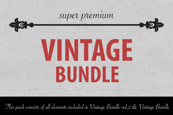 Vintage Bundle ULTIMATE Pack