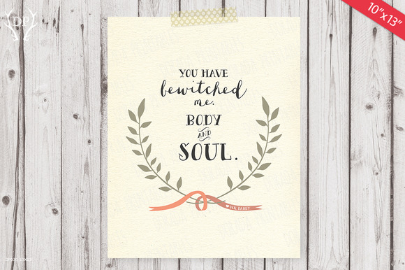 Love Quote Print Art MrDarcy