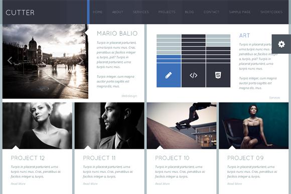CUTTER Responsive WordPress Theme