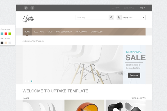 Uptake WooCommerce WordPress Theme