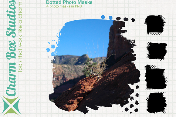 Dotted Photo Masks