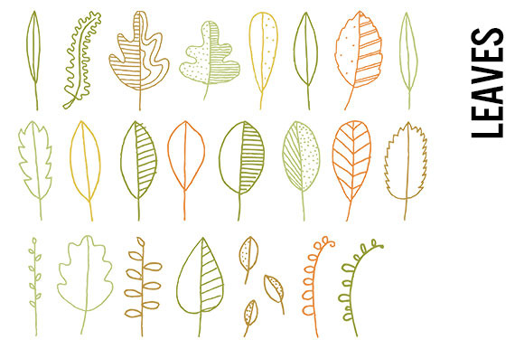 Leaves Clip Art Transparent PNGs