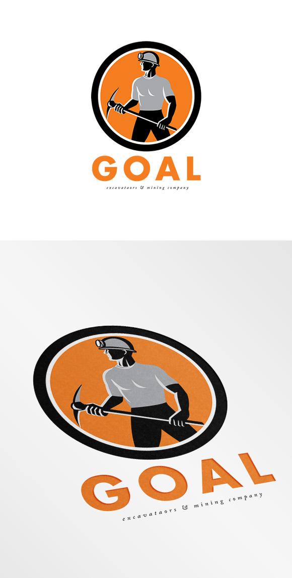 Goal Mining Company Logo