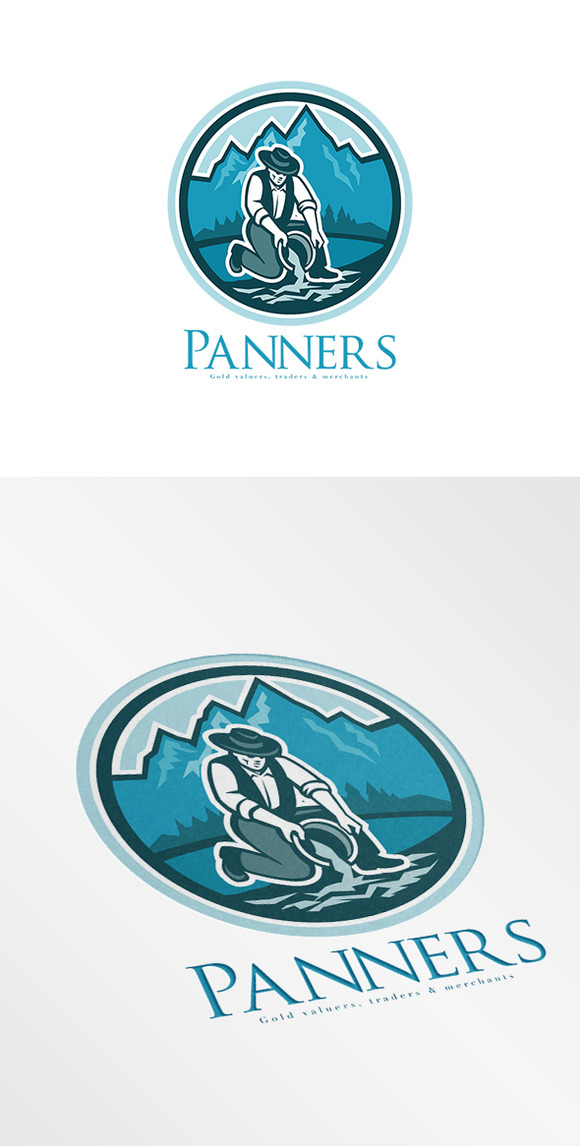Panners Gold Traders Logo
