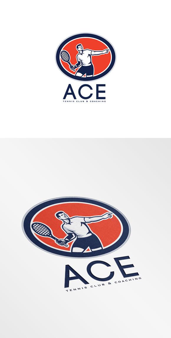 Ace Tennis Club And Coaching Logo