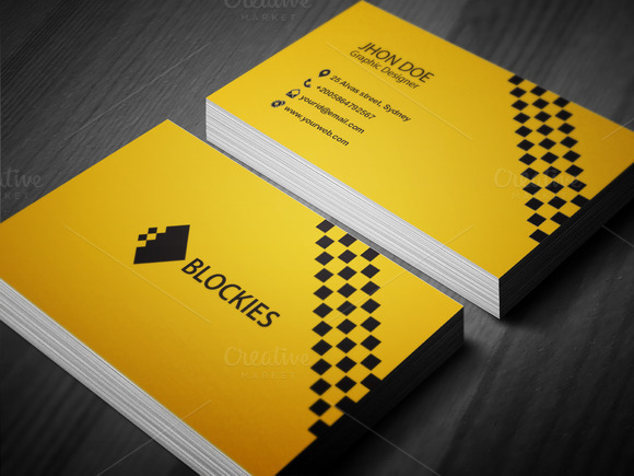 Corporate Business Card Tempalte