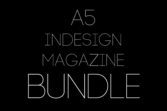 3x A5 Magazine Bundle