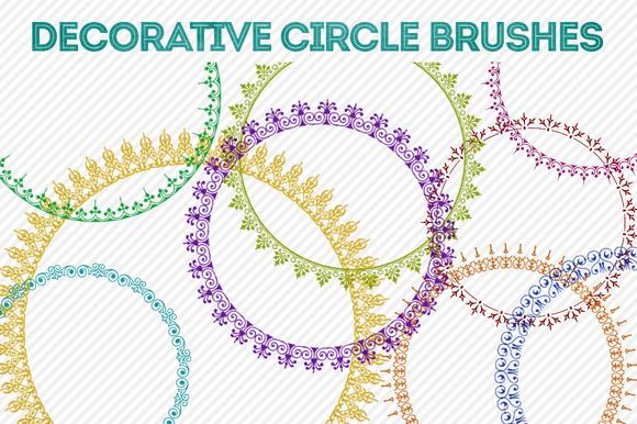 Decorative Circle Brushes