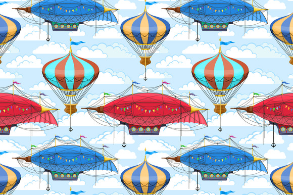 Airships And Airballoons Pack