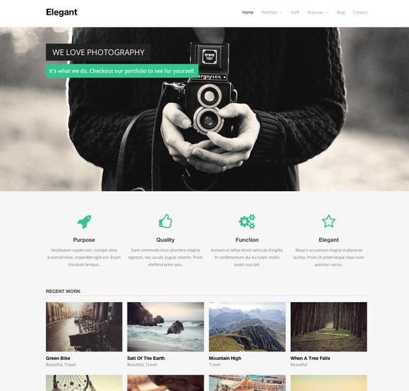 Elegant WordPress Theme
