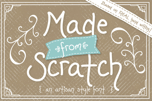 Made From Scratch Font