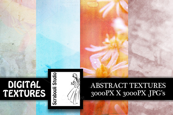 4 Soft Abstract Textures