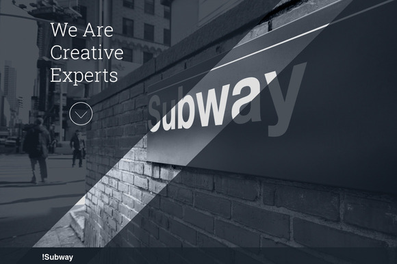 SUBWAY Creative HTML5 Template