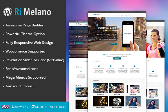 RI Melano Responsive Wordpress Theme
