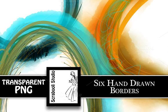 6 Decorative Borders