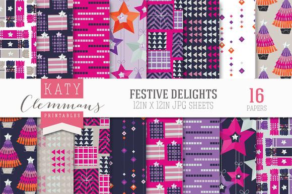 Festive Delights Patterned Paper