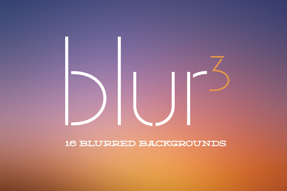 Blur3 16 Blurred Backgrounds