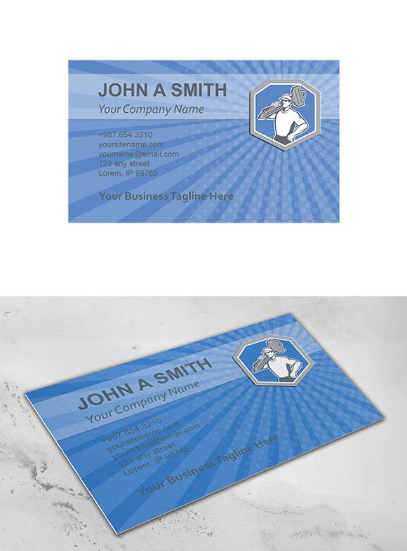 Business Card Template Locksmith Car