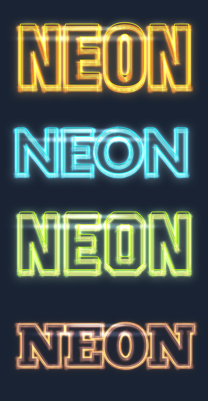 Neon Glow Effects