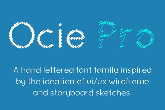 Ocie Pro Font Family