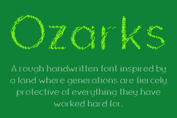Ozarks Font Family
