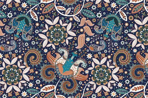 Seamless Pattern Garden-II