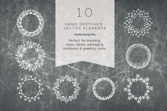 Bohemian Hand-drawn Vector Art