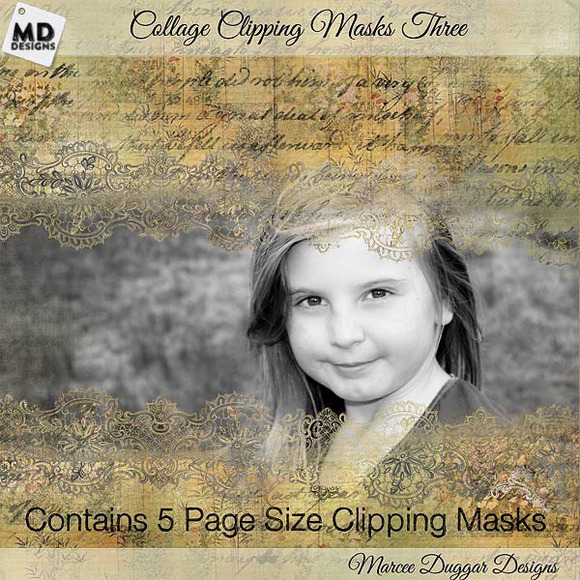 Collage Style Clipping Masks 3