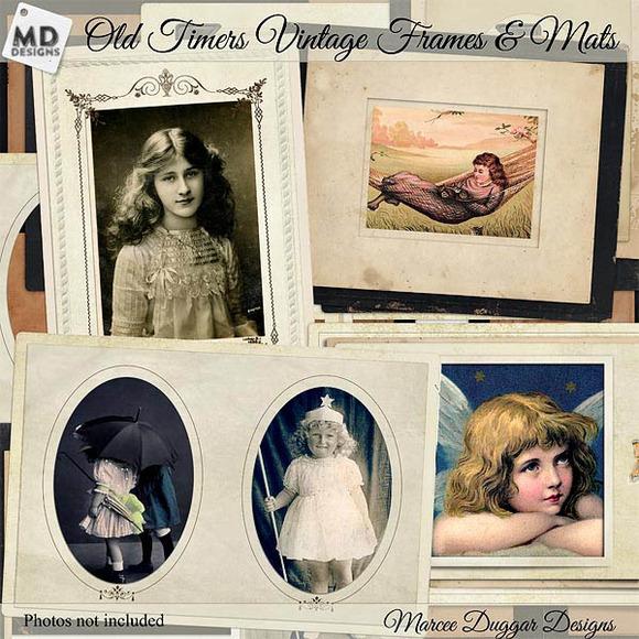 Vintage Frames And Mats
