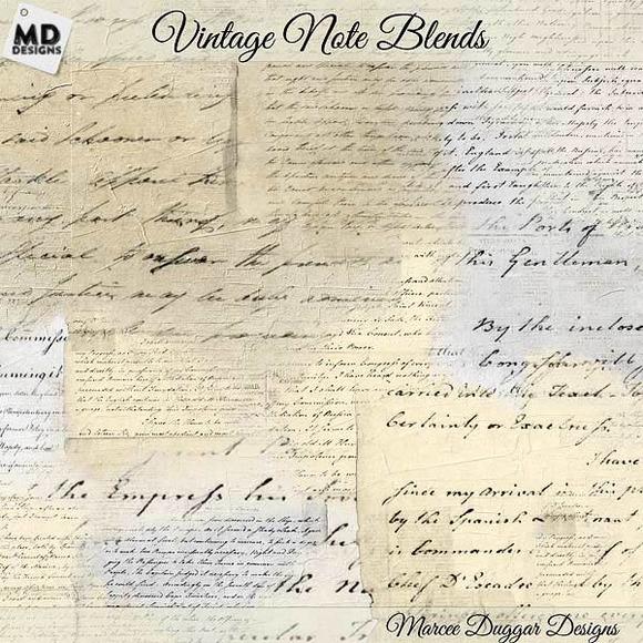 Vintage Script Notes