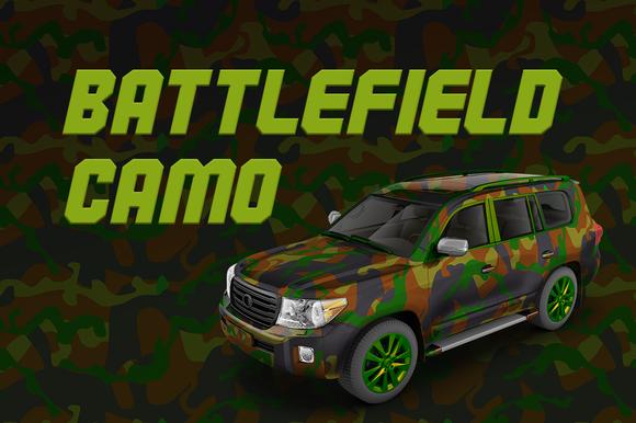 Battlefield Camo DLER Vector
