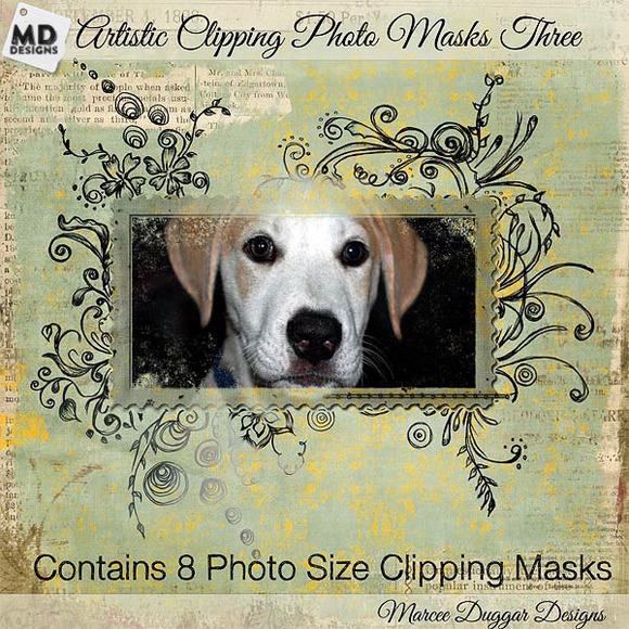 Photo Clipping Masks Set 3