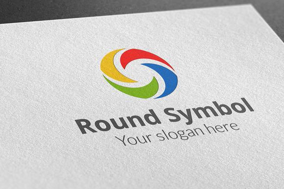 Round Symbol Logo