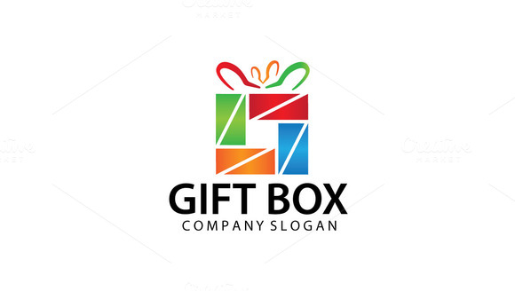 Simple Gift Shop Logo Template V.2