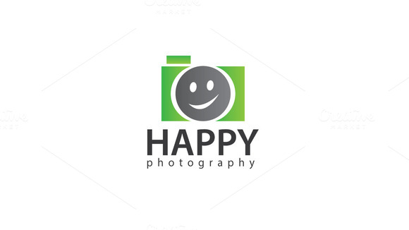 Happy Photography Logo Template