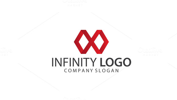 Simple Infinity Logo Template