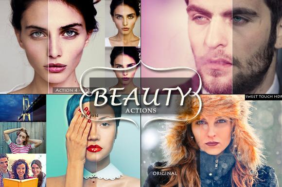 Beauty PS Actions Bundle