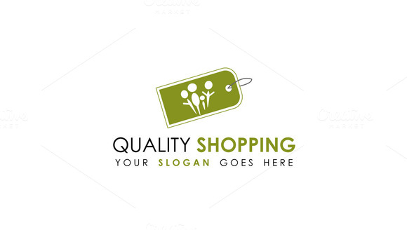 Shopping Logo Template